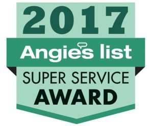 Subzero repair Angies list award