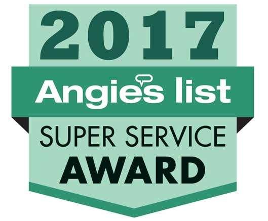 Subzero repair Angies list award